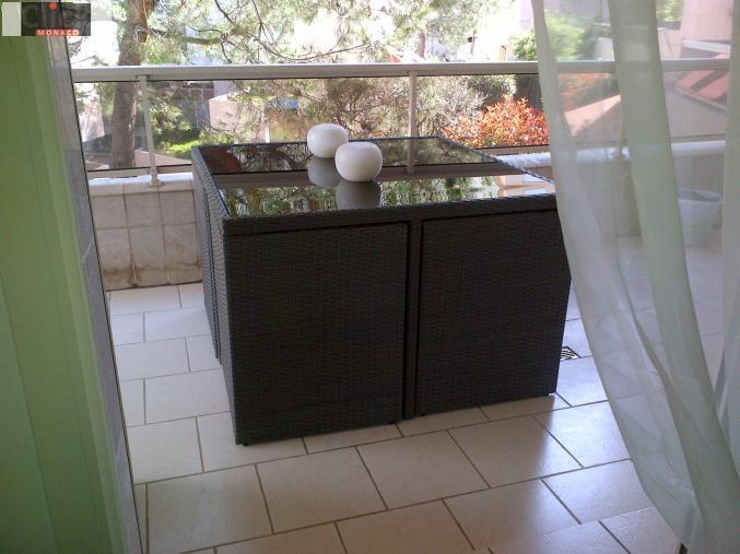 Ameublement Salon de jardin avec fauteuils encastrables Monaco Les ...